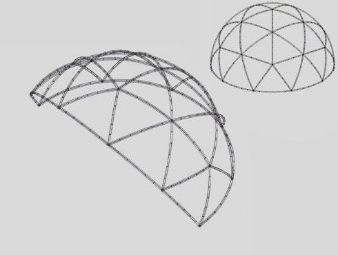 10m Geodesic Dome Hire