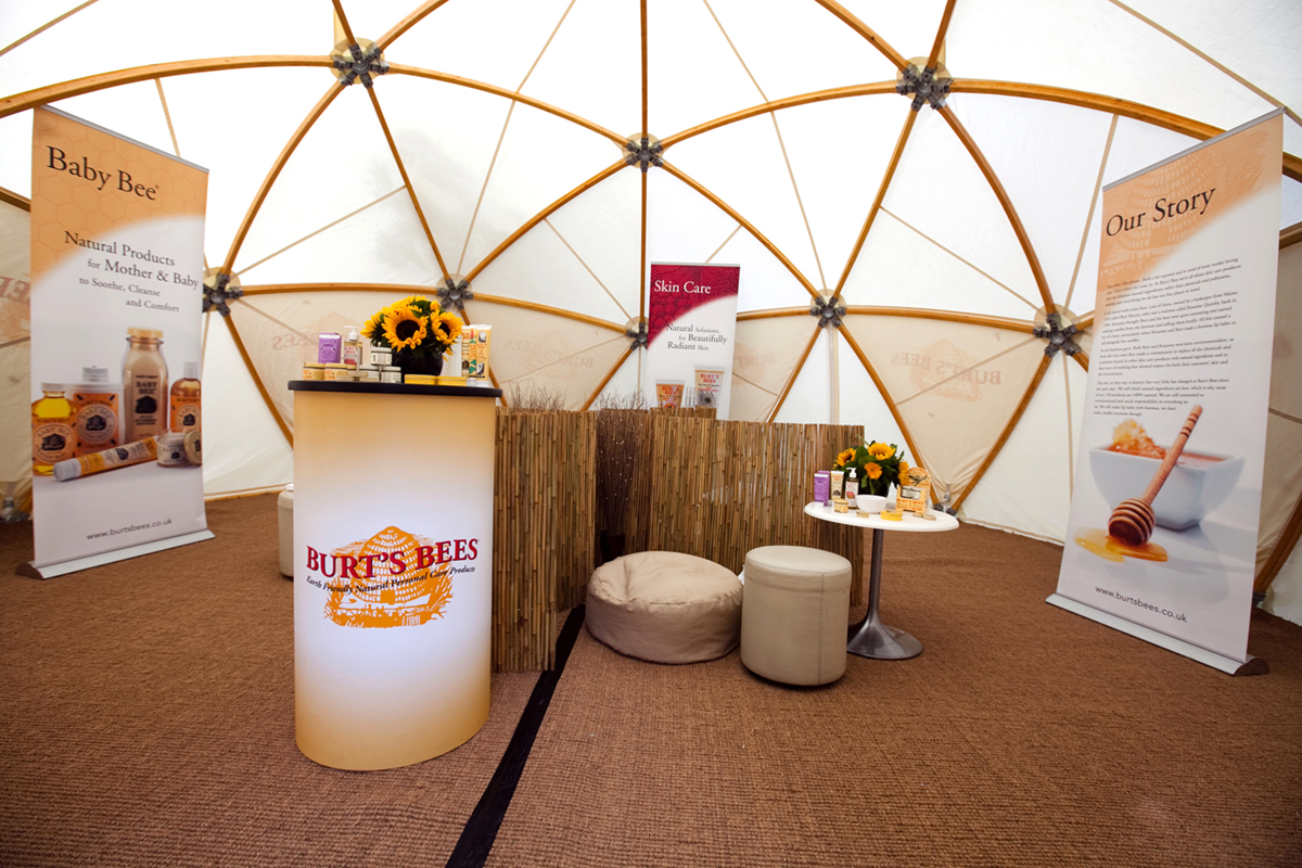 7m Geodesic Dome Hire